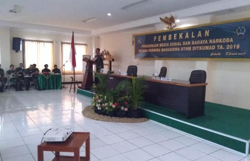 Wakapendam Jaya Ajak Pamasis STHM Bijak Dalam Bermedsos