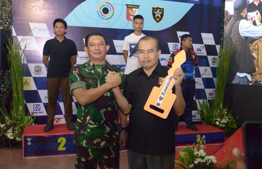 Kejurnas Menembak Pangdam Jaya 2019 Cetak Rekor Nasional dan Juara Baru