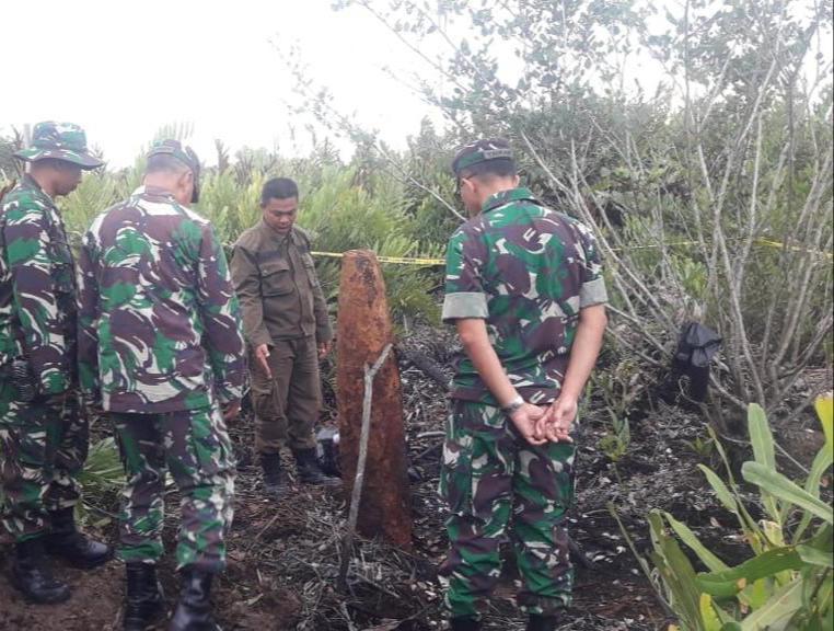 Kodim Sangatta Hancurkan Bom Udara Peninggalan PD ke-II