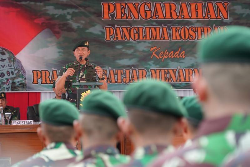 Pangkostrad : Prajurit Kostrad Tingkatkan kemampuan, Hindari Pelanggaran dan Jaga Netralitas