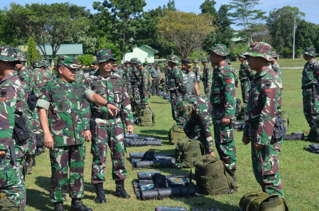 Satgas Kizi TNI Konga Minusca harus Berprestasi serta Jaga Nama Baik Indonesia Dimata Dunia