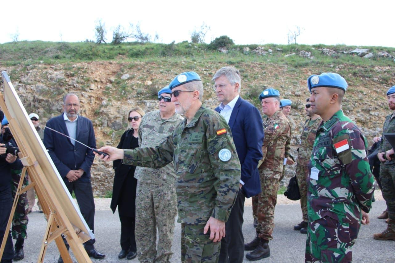Wakil Sekjen PBB Kunjungi Daerah Operasi Indobatt Konga UNIFIL di Lebanon