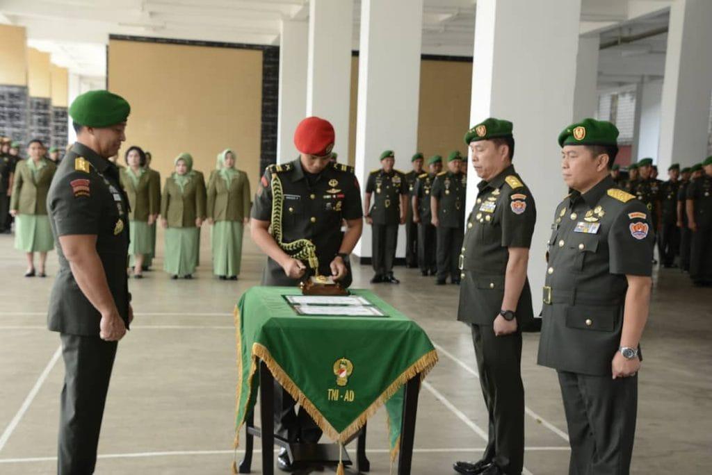 Sahli Kasad Miliki Peran Penting Bagi Pelaksanaan Tugas Pokok TNI AD