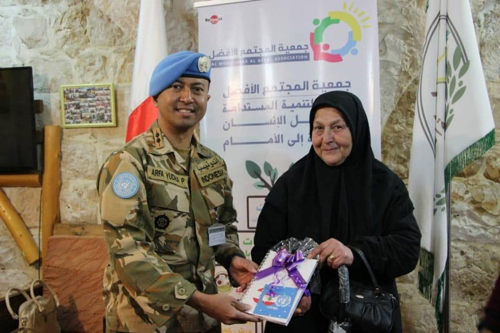 Satgas Indobatt Pererat Silaturahmi dengan Warga Lebanon Melalui Mother's Day