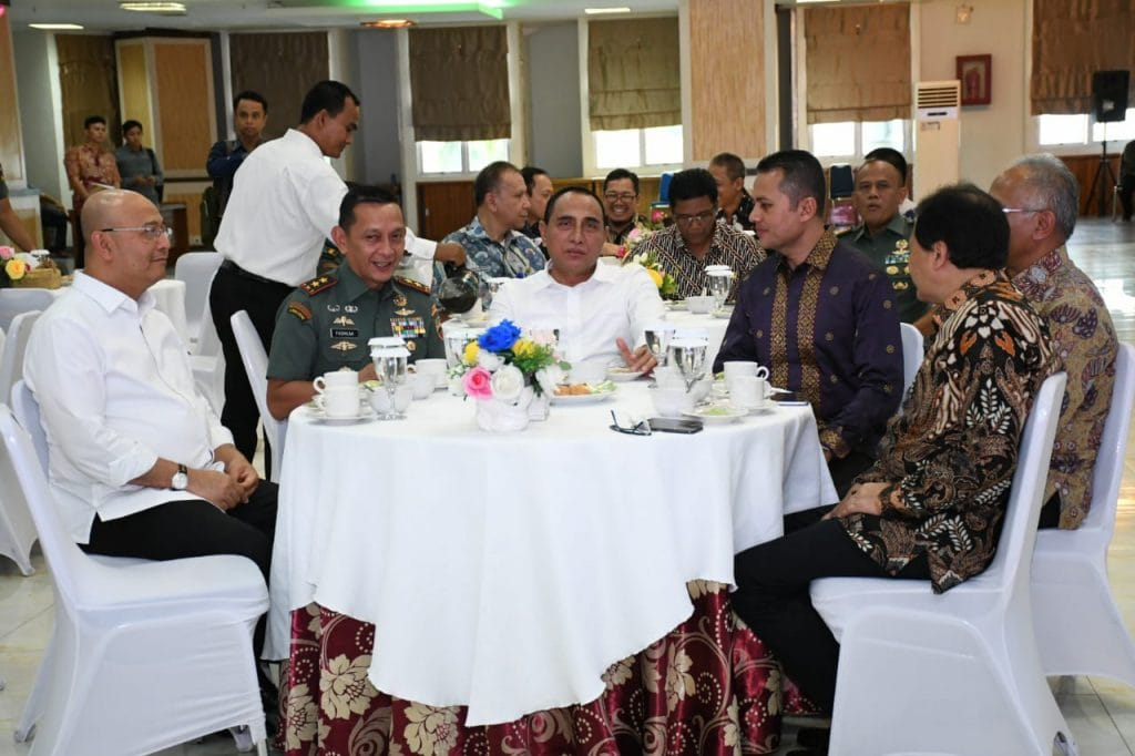 Kodam I/BB Siap Dukung Pembangunan Tol di Medan
