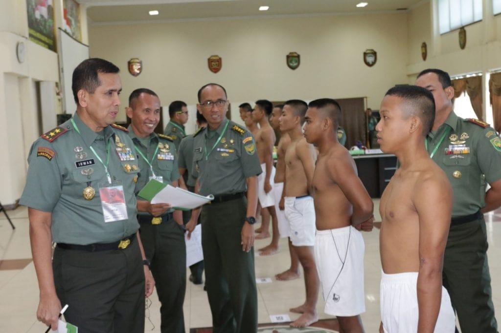 10 Pemuda Enggano dan SAD Masuk Calon Cata PK TNI AD