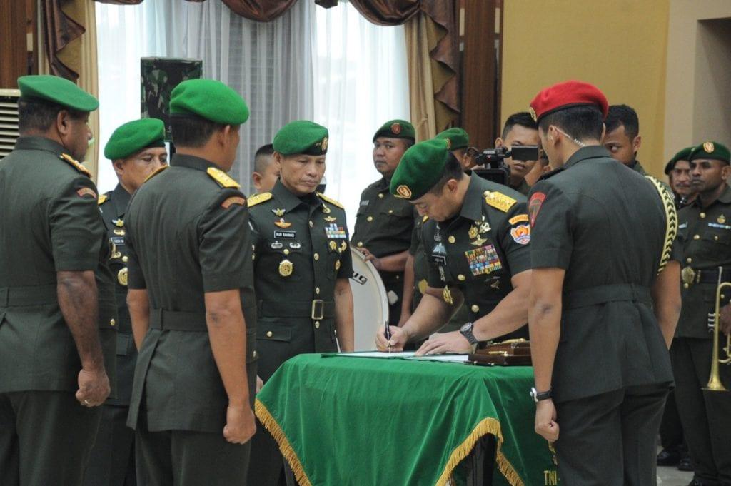 Mayjen TNI Herman Asaribab, Jabat Pangdam XII/Tanjungpura