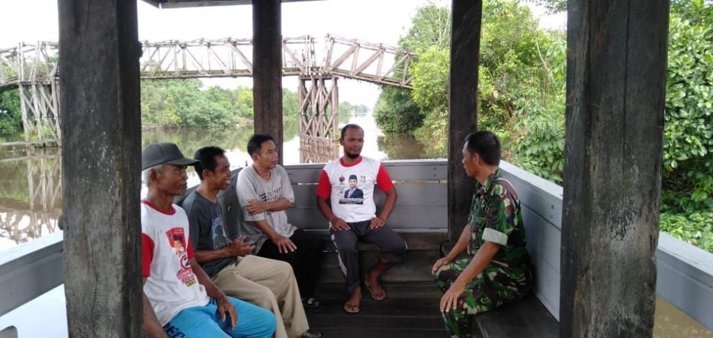 Gerakan Tata Lingkungan, Cegah Banjir di Anjir Serapat