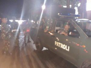 Kodim 1207/BS Gelar Patroli dan Pengamanan Paskah di Kota Pontianak.