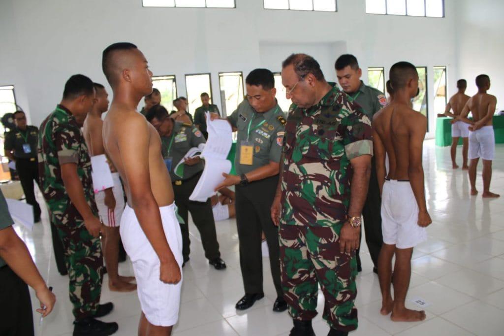 Pangdam XII/Tpr : Seleksi Penerimaan Prajurit Tidak Dipungut Biaya