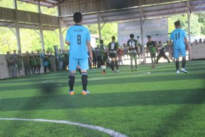 Kerjasama Satgas 301, Gelar Turnamen Liga Paskah