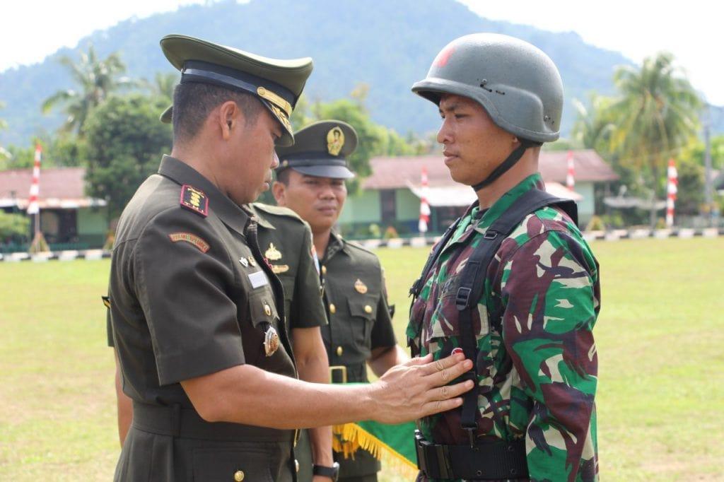 Rindam XII/Tpr Siap Didik Putra Terbaik Bangsa Jadi Prajurit.