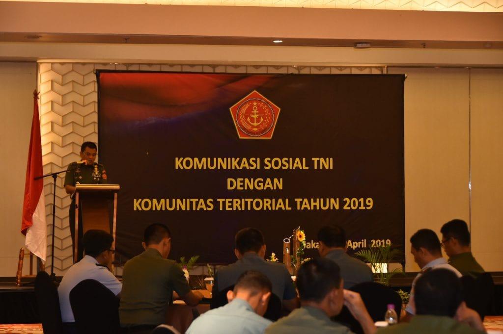 Aster Panglima TNI : Pemberdayaan Wilayah Pertahanan Wujudkan Keutuhan NKRI