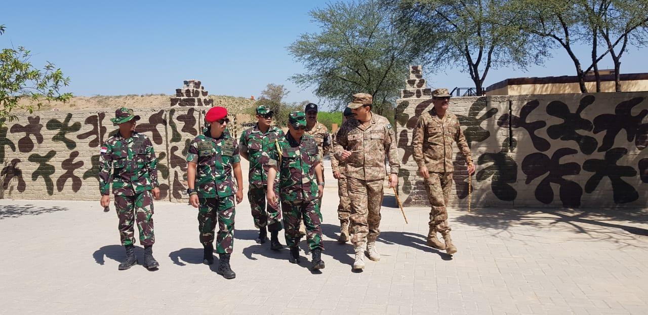 Latma Elang Strike 2019, Tingkatkan Hubungan Kerjasama TNI dan Angkatan Bersenjata Pakistan