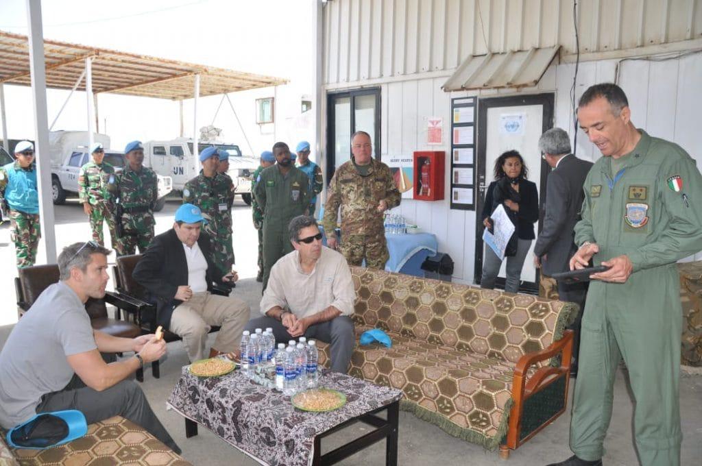 Anggota Dewan AS Tinjau Daerah Operasi Satgas Indobatt /UNIFIL