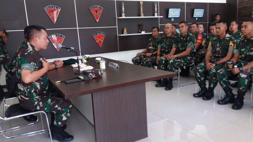 Gubernur Akmil Kunjungi 23 Taruna Akmil Kecabangan Armed di Malang