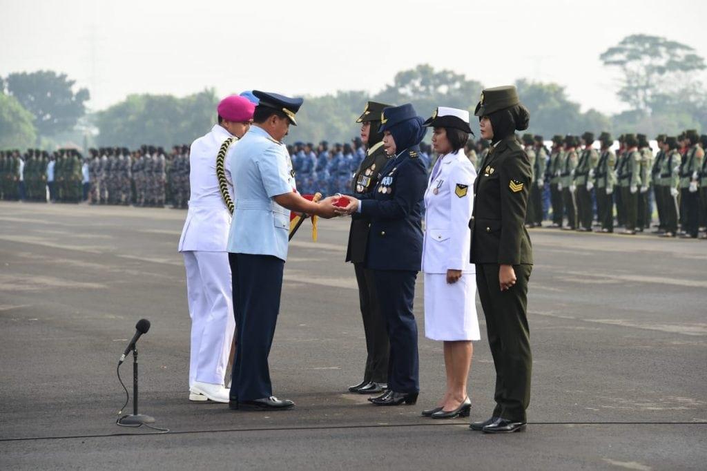 Profesionalisme Prajurit Wanita TNI Sebagi Prajurit Terlatih dan Handal