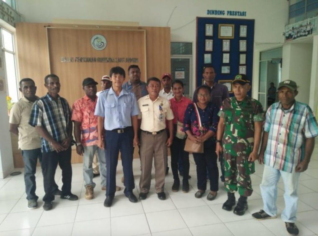 Dorong produktifitas, Tim Emas Biru Kodam XVI/PTM Latih 11 Nelayan Papua
