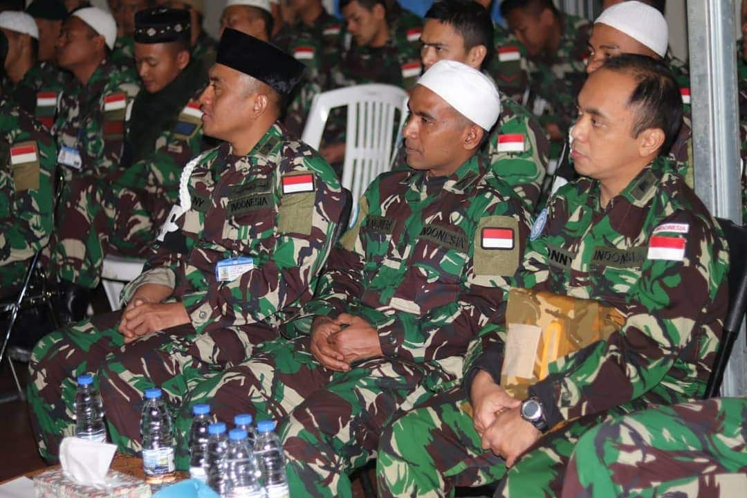 Satgas MPU UNIFIL dan Milstaf Seceast Peringati Isra Mi'raj 1440 H di Lebanon