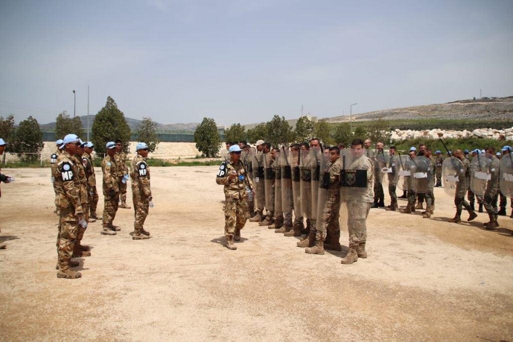 Satgas MPU Konga-25 Latih PHH Tentara Lebanon dan Pasukan UNIFIL