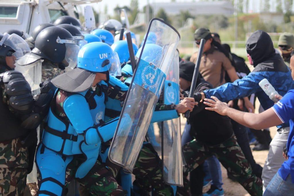 Satgas MPU Konga-XXV Latih PHH Tentara Lebanon dan Pasukan UNIFIL