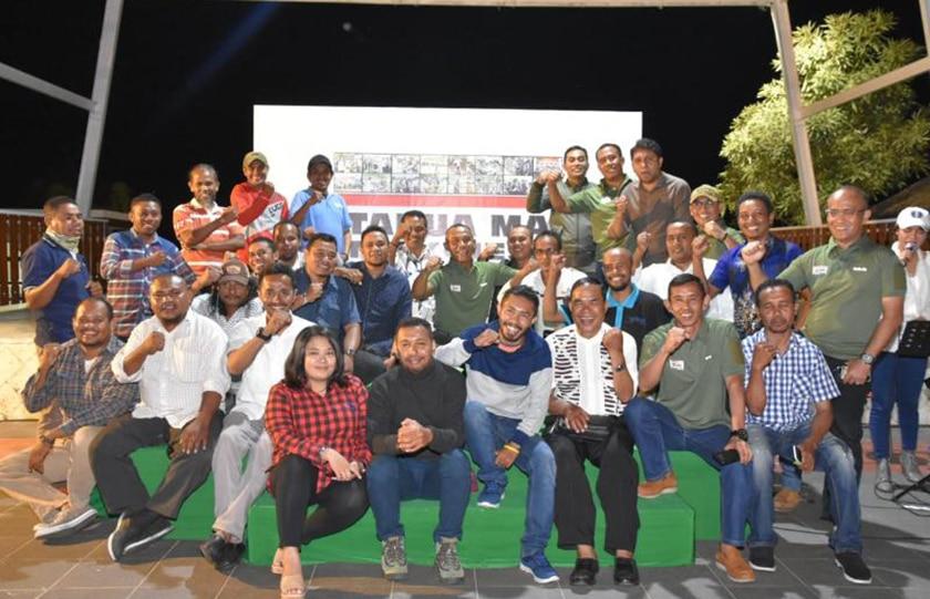 Silaturahmi dengan Wartawan, Satukan Hati Membangun Bangsa