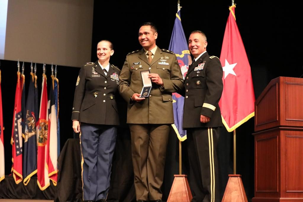 Terukir Di _wall Of Fame Us Army Cgsc_, Mayor Inf Al Zaki Catatkan Sejarah Indonesia