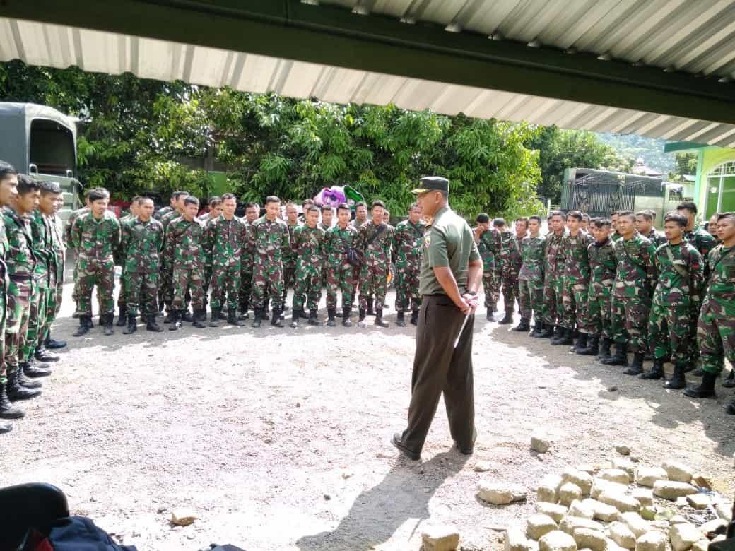 Yonzipur-4 Percepat Bangun Rumah Korban Gempa Lombok