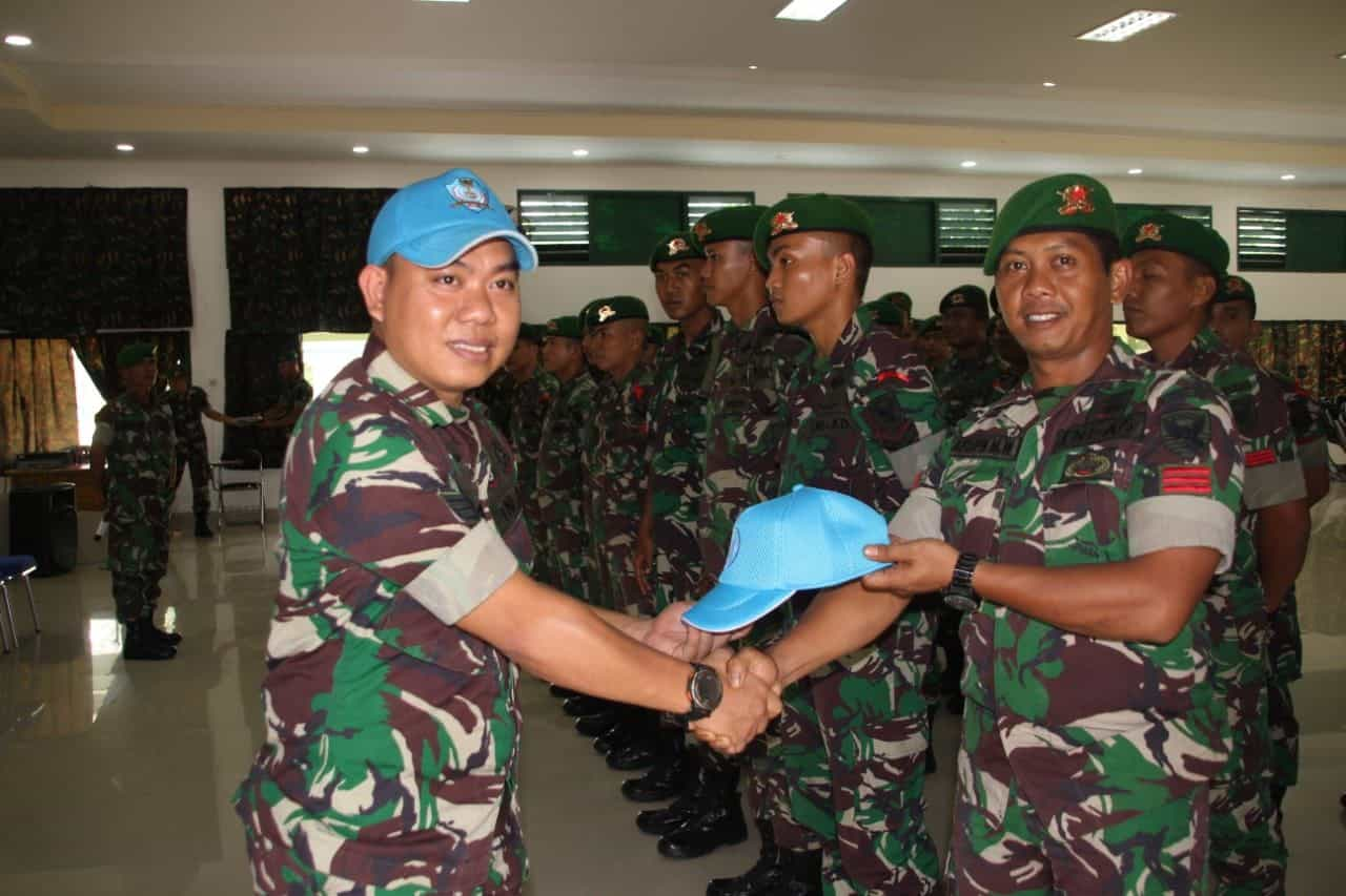 Bergabung Un Peacekeeper, Yonif 141 Siap Emban Amanat Bangsa Indonesia