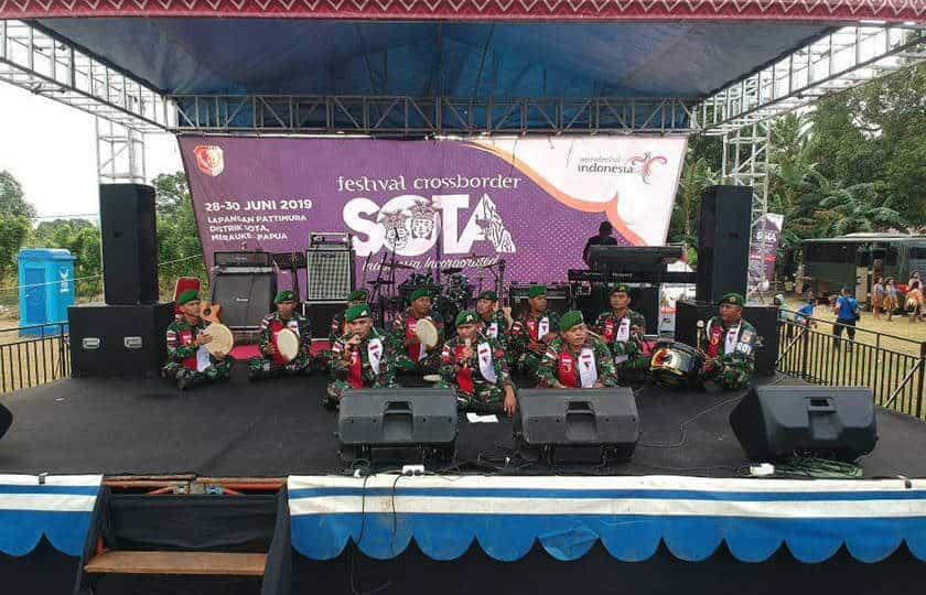 Senandung Marawis Yonmek 521 Meriahkan Cross Border Festival Sota