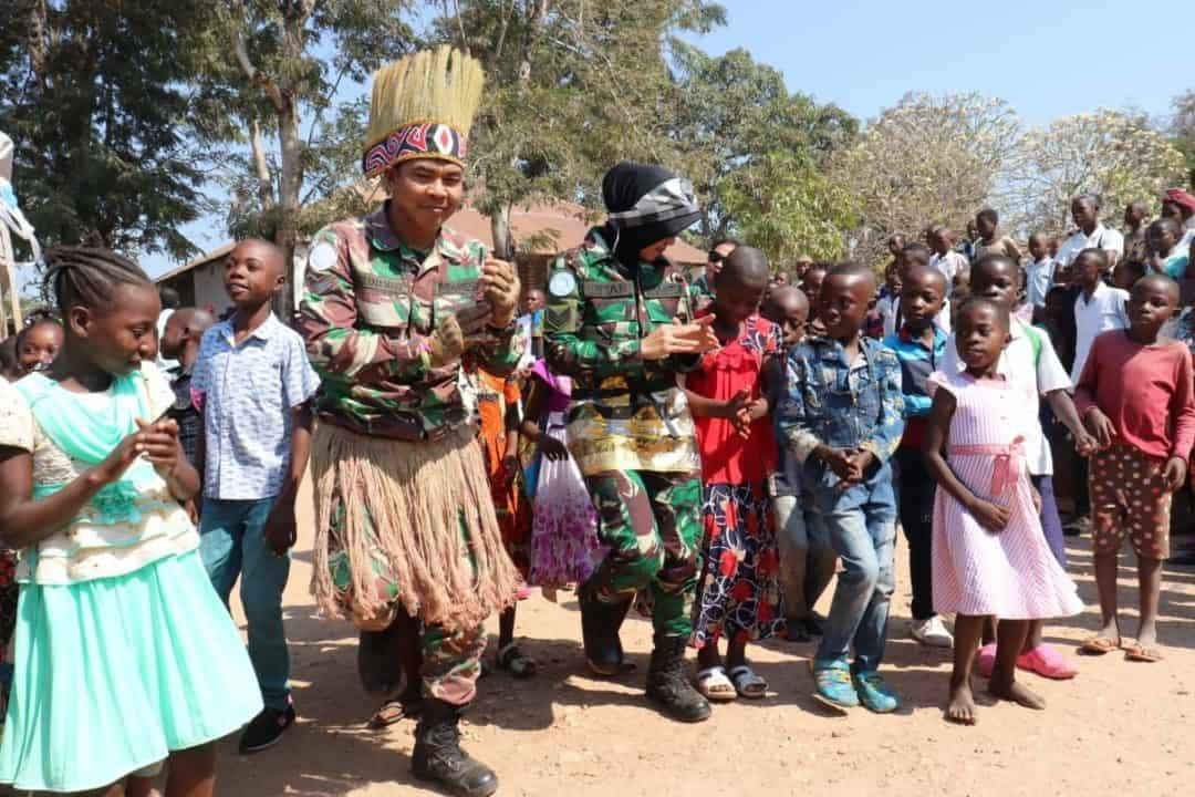 Berhasil Damaikan Warga Di Kongo, Satgas Indo Rdb Monusco Panen Apresiasi