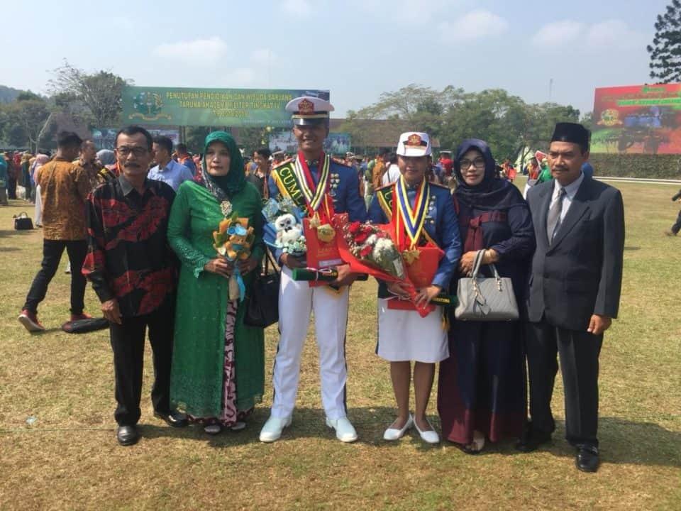 Wujudkan Mimpi Orang Tua, Sermatutar Fajar Dan Dewi Terbaik Akmil 2019
