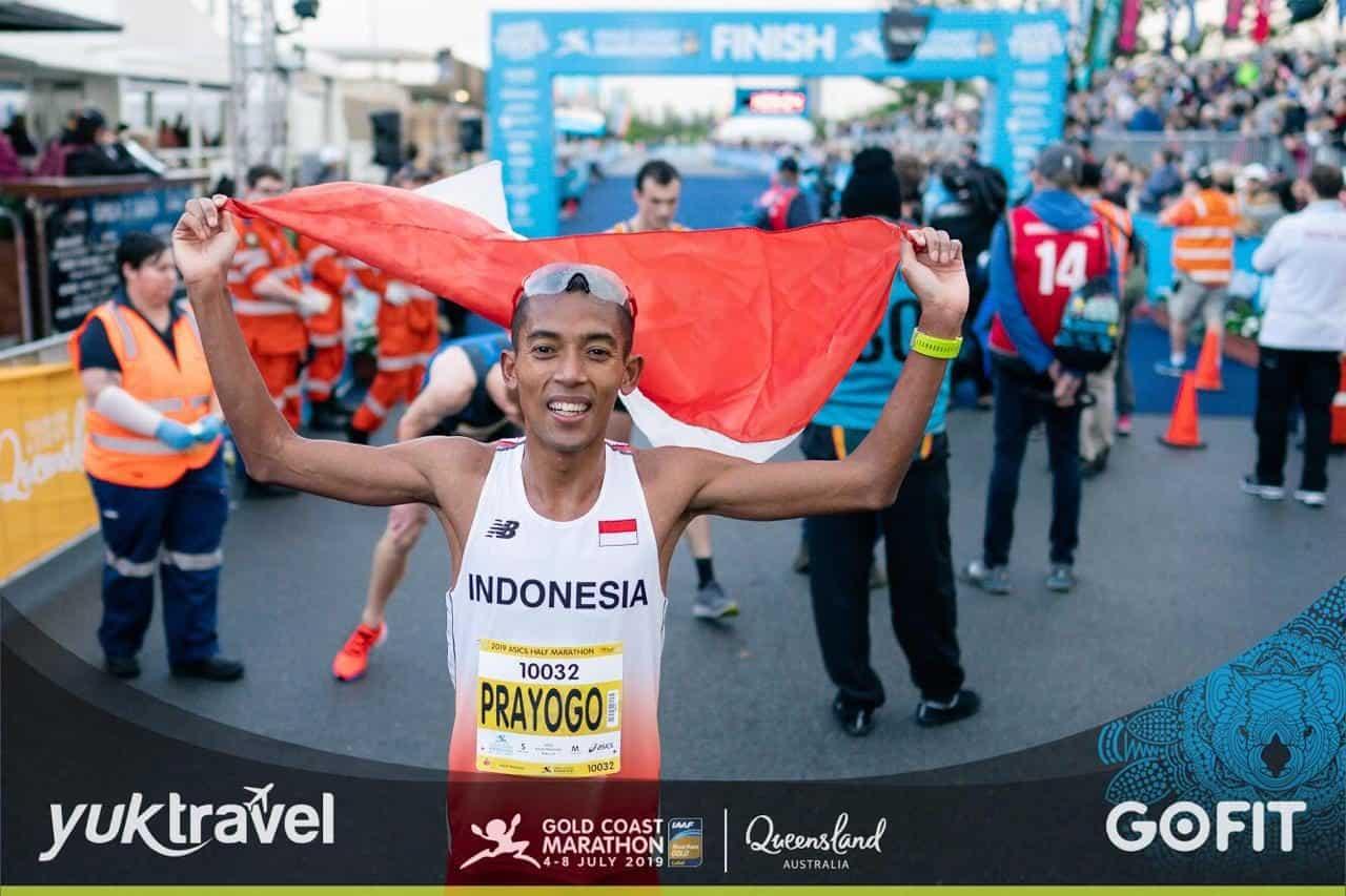 Rekor Baru Letda Inf Agus Prayogo Di Gold Coast Australia Marathon 2019