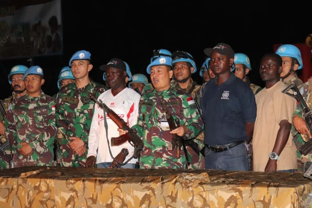 Satgas Indo Rdb Monusco Berhasil Damaikan Pertikaian Dua Suku Di Nyunzu Territory