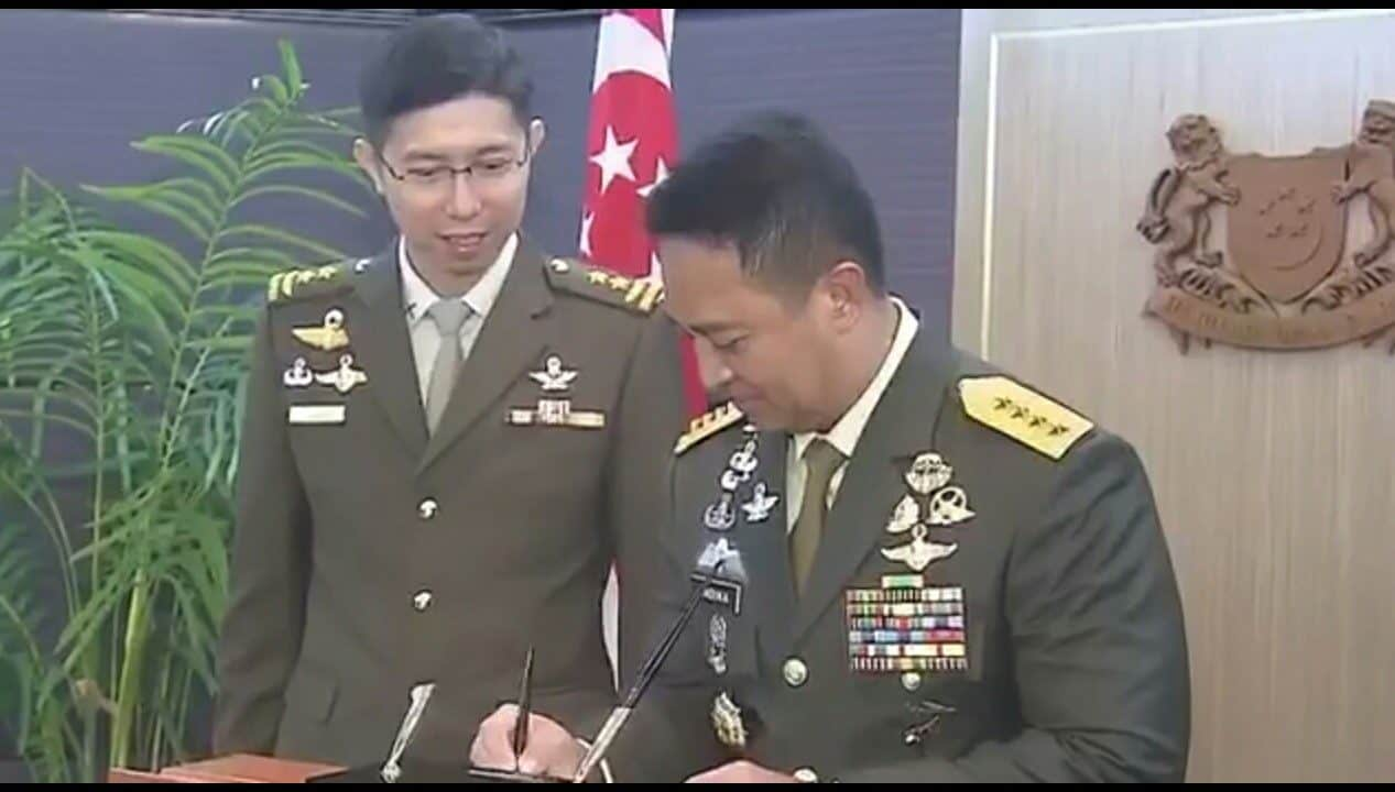 Kunjungan Kasad Ke Pejabat Militer Dan Menhan Singapura, Pererat Kerja Sama Dan Perkuat Stabilitas Kawasan