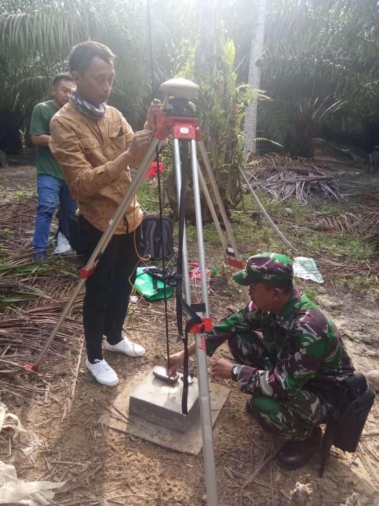 Kurangi Potensi Konflik, Dittopad Dan Tdm Ukur Ulang Batas Negara Di Pulau Patok