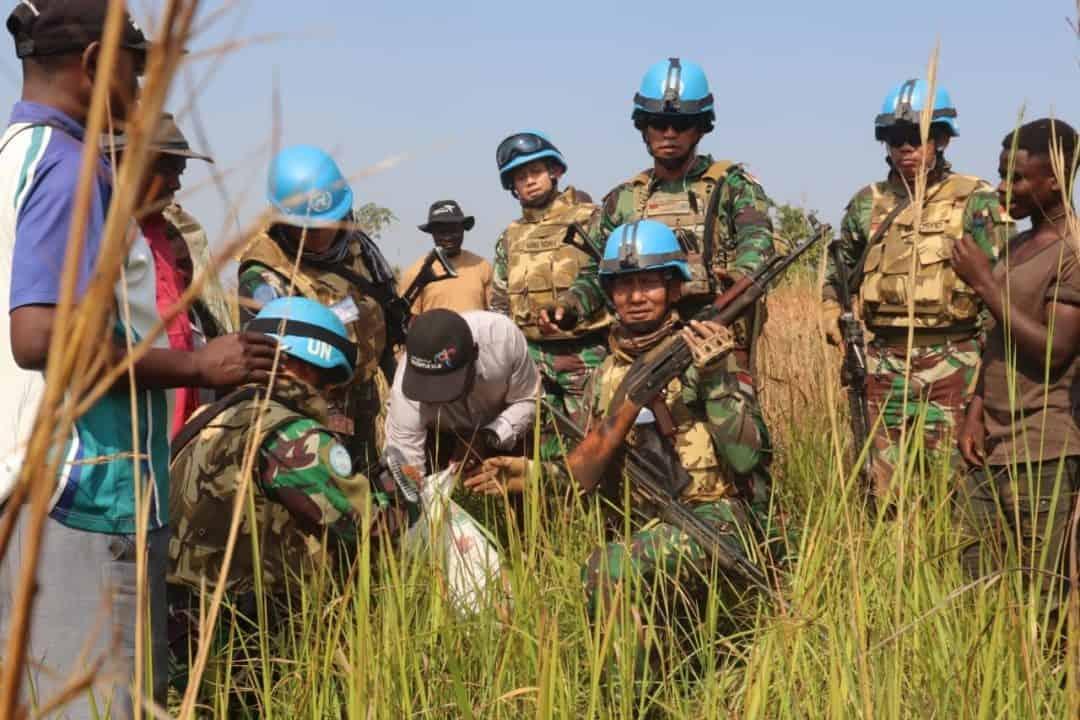 Percaya Satgas Indo Rdb Monusco, Eks Kombatan Perci Serahkan Senjata