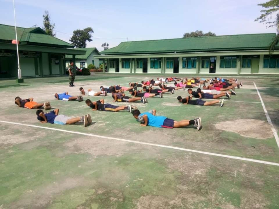 Siapkan Putra Daerah Jadi Calon Prajurit, Kodim Barabai Latih 48 Calon Caba Pk Tni Ad