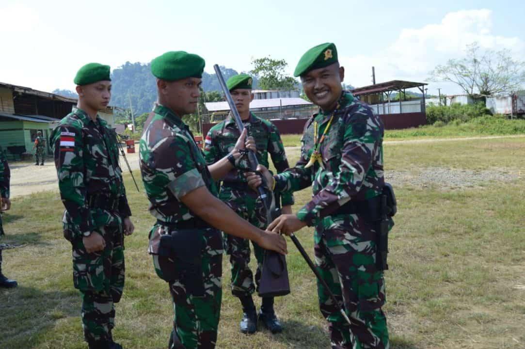 Satgas Pamtas Ri-malaysia, Wilayah Mahakam Ulu Diserahterimakan, Satgas Yonif 303 Siap Ditugaskan