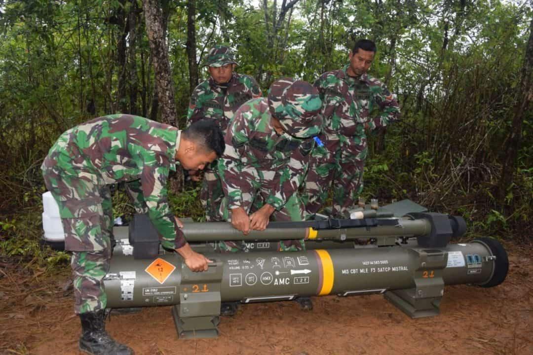 Latancab 2019, Menguji Kemampuan Prajurit Yonarhanud 1/1/k Mengoperasionalkan Rudal Mistral