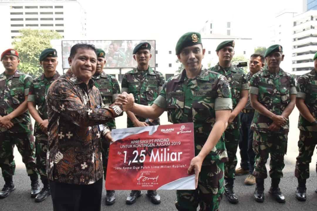 Juara Aasam 12 Kali Berturut-turut, Petembak Tni Ad Dapatkan Apresiasi Dari Pt Pindad