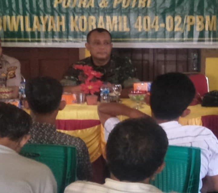 Motivasi Putra-putri Prabumulih, Koramil Sosialisasikan Penerimaan Bintara Pk Tni Ad