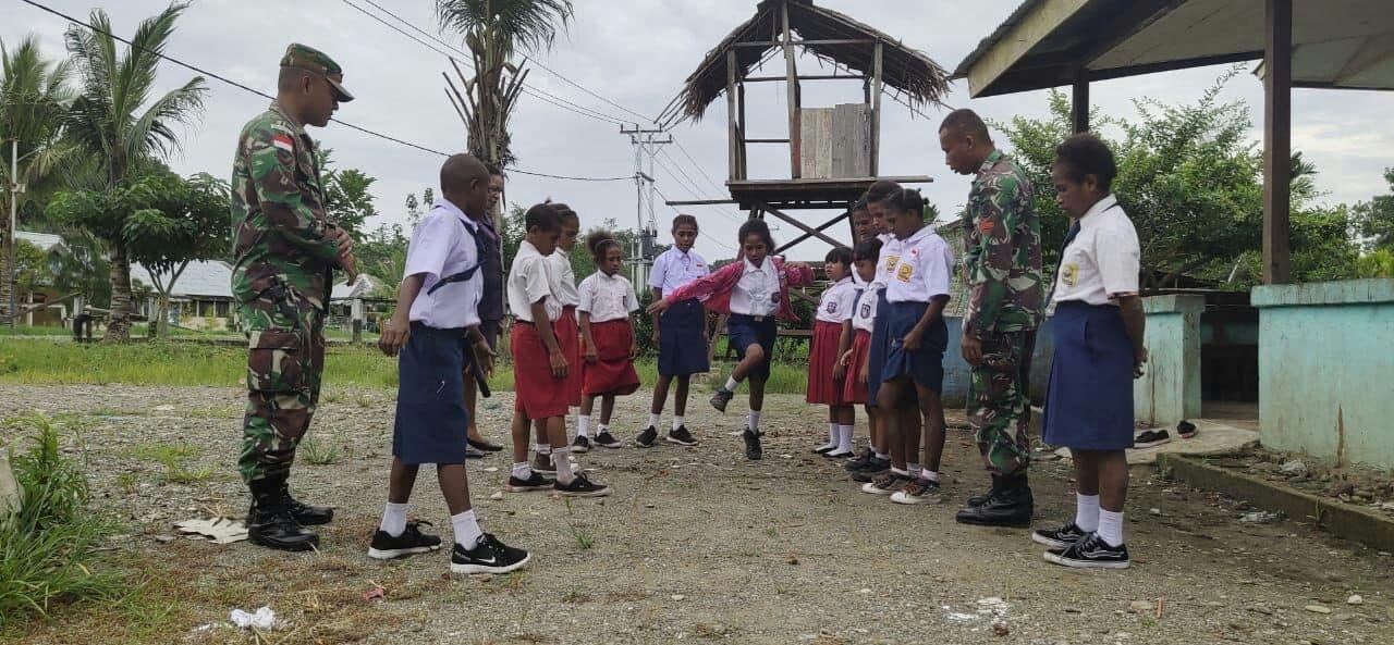 Permainan Lokal Gici-gici, Hiburan Dan Wahana Bangun Kebersamaan Anak Perbatasan Ri-png