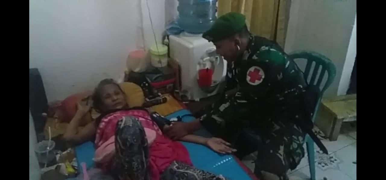 Jaga Silaturahmi Dengan Warga, Yonif 734 Gelar Baksos Serentak Di Ambon