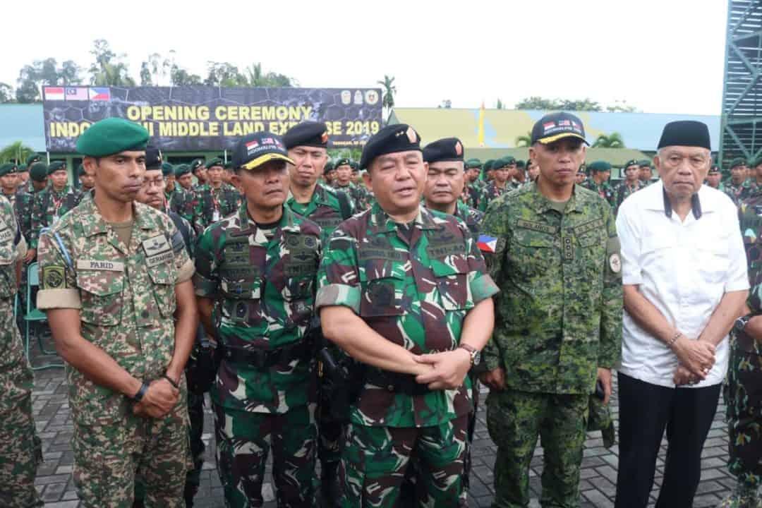 Latma Indomalphi 2019, Wujudkan Stabilitas Keamanan Perbatasan 3 Negara