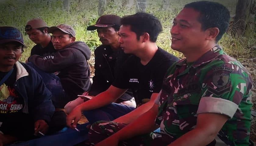 Cegah Karhutla, Babinsa Wungu Sosialisasikan Bahaya Dan Dampak Karhutla
