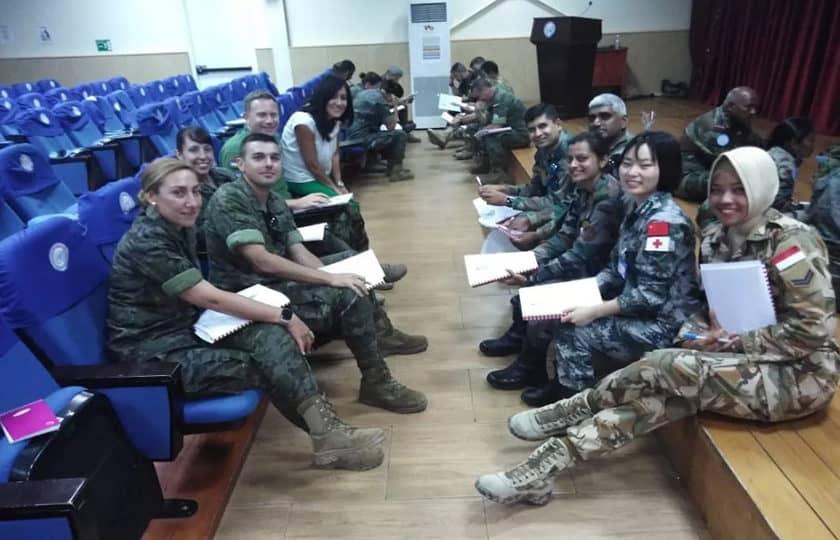 Sempu Unifil Kirim Sertu (k) Dhita Naibaho Ikuti Latihan Military Task Forces