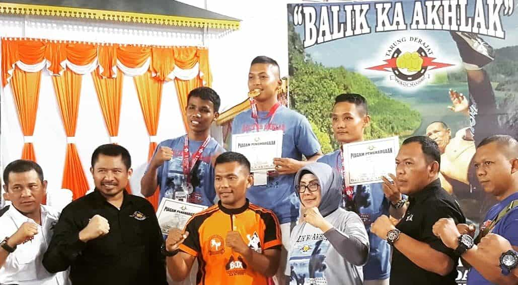 Raih Emas Kejurda Tarung Derajat Riau 2019, Prada Ilham Ikuti Pra Pon 2019