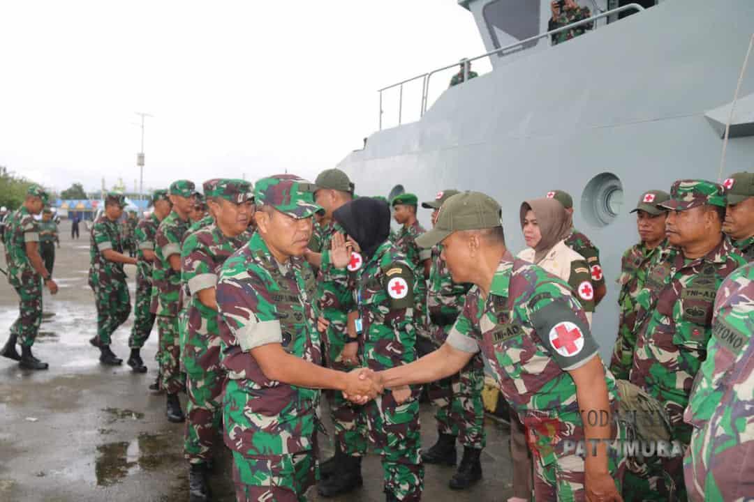 Kodam Xvi/ptm Kerahkan Satgas Gulbencal Di Halmahera Selatan
