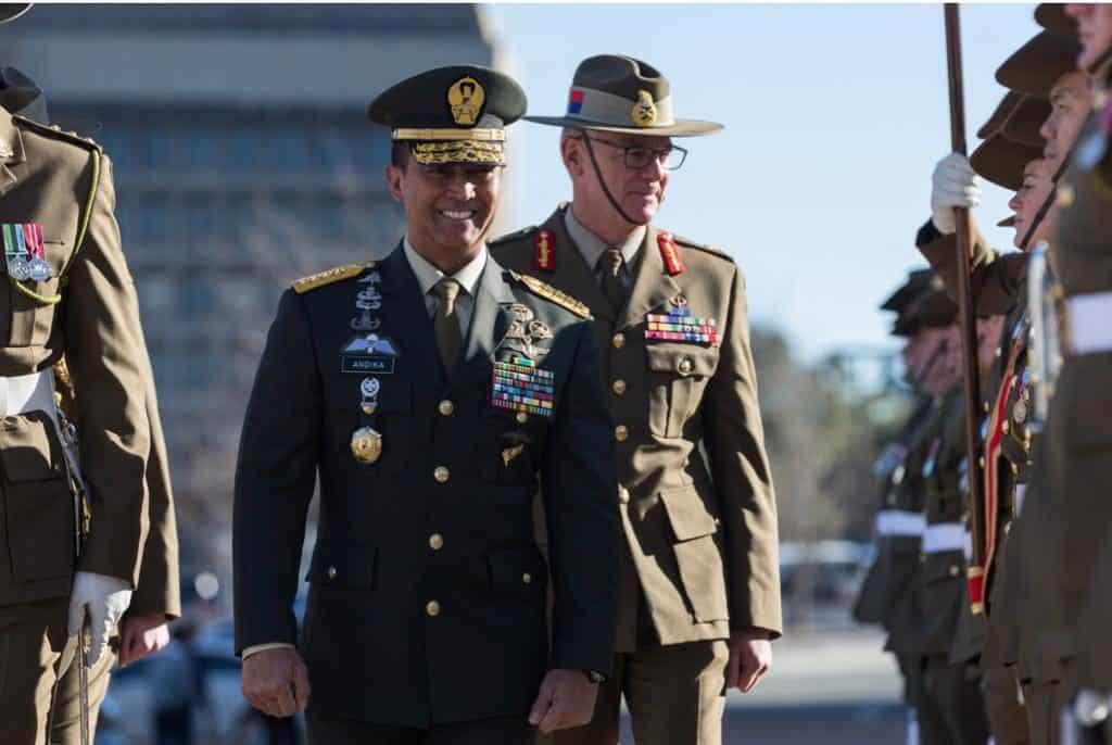 Kunjungan Kasad Di Australia, Pererat Kerja Sama Kedua Angkatan Darat